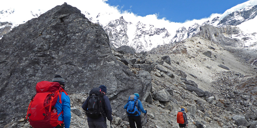 Expedition in Sikkim