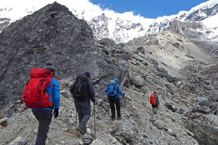 Mt. Thinchenkhan (6010M) - Expedition